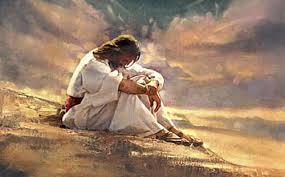 يسوع يبكي اورشليم