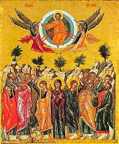 بركات الصعود، الأمور الفوقانية، الراحة في المسيح، التكليف الإلهي، عيد الصعود