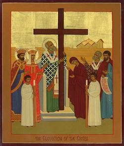 راية الصليب، من النيروز إلى الصليب