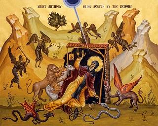 انطونيوس والطريق الروحي الصحيح، المجاهد الفطن المطمئن