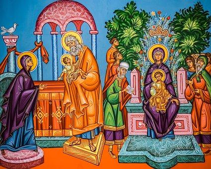 عيد دخول المسيح الهيكل لسنة 2013