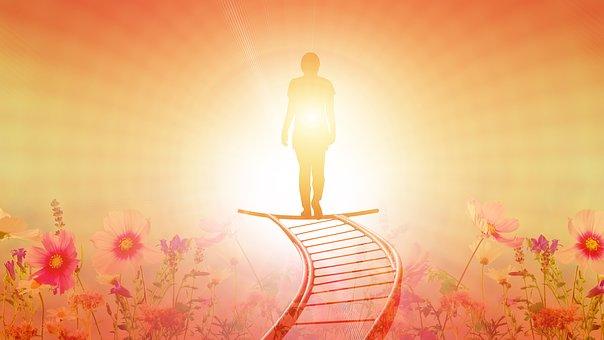 التحول المستمر من واقعي في العالم إلى دعوتي في المسيح-تطهير -استنارة-اتحاد