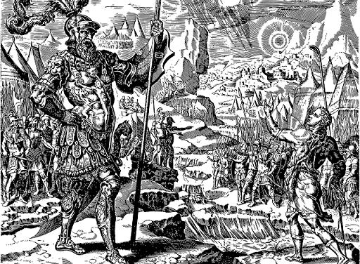 الغيرة المقدسة، دروس من حياة داود