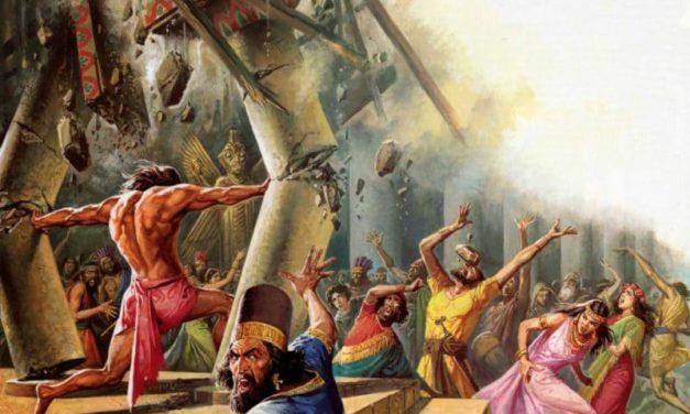 القيامة في حياة حياة رجال الله، شمشون كنموذج