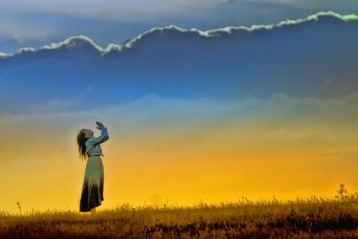 صومنا سماء مفتوحة، عمود سحاب يقود، و رب يتكلم